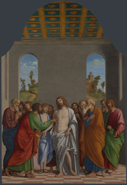 Giovanni Battista Cima da Conegliano: 'The Incredulity of Saint Thomas'