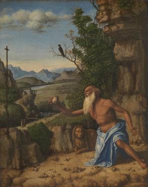 Giovanni Battista Cima da Conegliano: 'Saint Jerome in a Landscape'