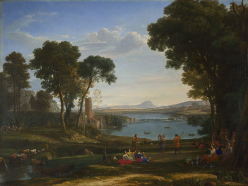 Claude: 'Landscape with the Marriage of Isaac and Rebecca'