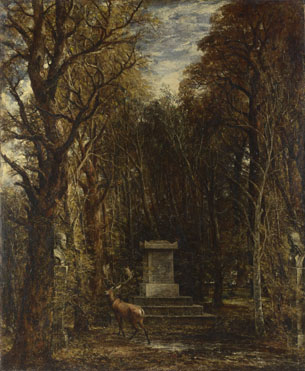 John Constable: 'Cenotaph to the Memory of Sir Joshua Reynolds'