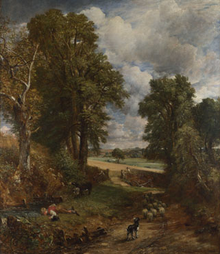 John Constable: 'The Cornfield'