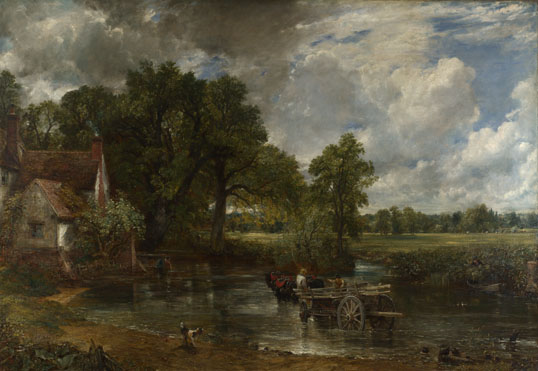 John Constable: 'The Hay Wain'