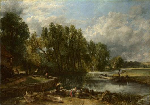 John Constable: 'Stratford Mill'