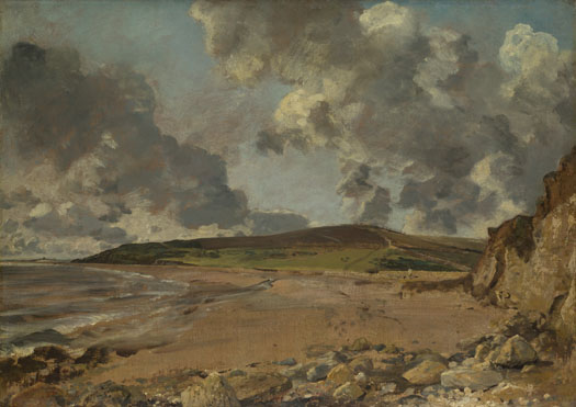 John Constable: 'Weymouth Bay: Bowleaze Cove and Jordon Hill'