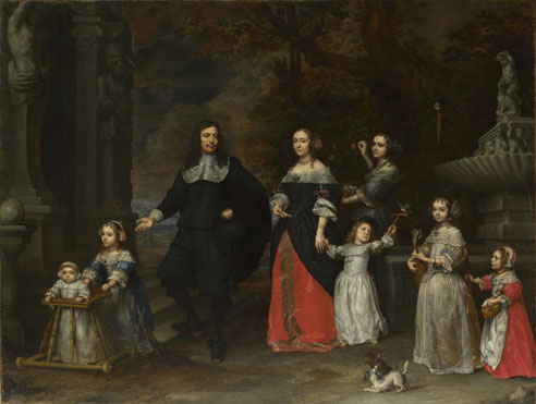 Gonzales Coques: 'A Family Group'