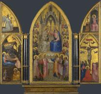 Giusto de' Menabuoi, 'The Coronation of the Virgin, and Other Scenes', 1367