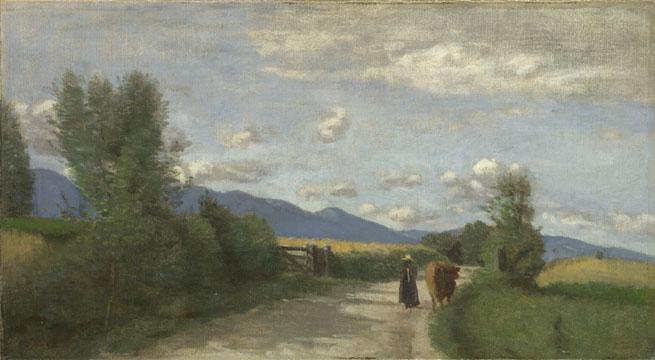Jean-Baptiste-Camille Corot: 'Dardagny, Morning'