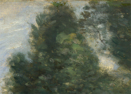 Detail from Corot, 'Landscape at Arleux-du-Nord', 1871-4