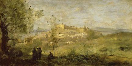 Corot, Fort Saint-André, 1836