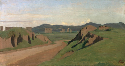 Corot, 'Aqueduct in the Roman Campagna'