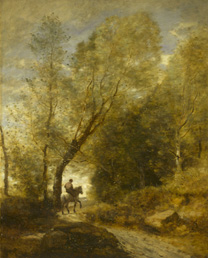 Corot, 'The Forest at Coubron', 1872