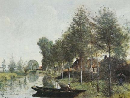 Corot, 'Landscape at Arleux-du-Nord', 1871