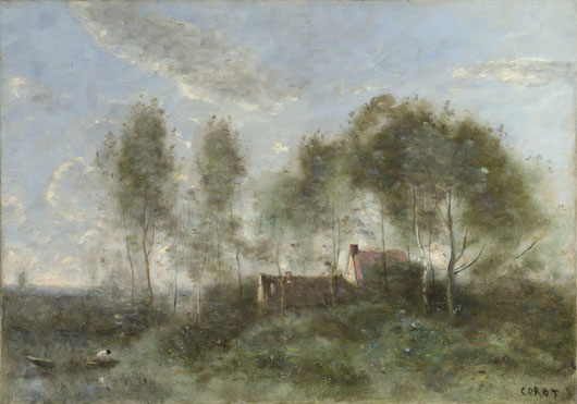 Jean-Baptiste-Camille Corot: 'Souvenir of a Journey to Coubron'
