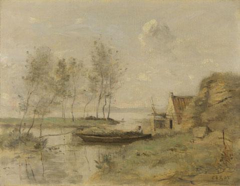 Jean-Baptiste-Camille Corot: 'Souvenir of Palluel'