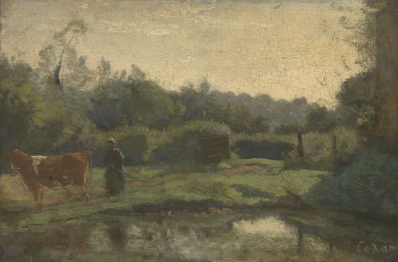 Jean-Baptiste-Camille Corot: 'Summer Morning'