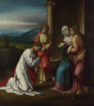 Correggio: 'Christ taking Leave of his Mother'