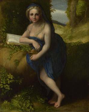Attributed to Correggio: 'The Magdalen'