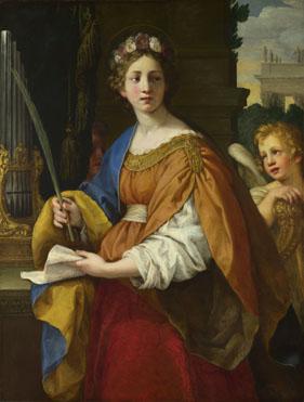 Pietro da Cortona: 'Saint Cecilia'