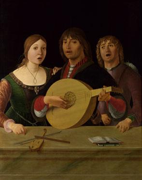 Lorenzo Costa: 'A Concert'