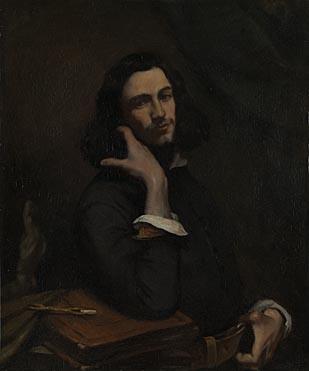 Gustave Courbet: 'Self Portrait (L'Homme à la Ceinture de Cuir)'