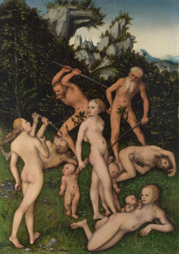 Lucas Cranach the Elder: 'The Close of the Silver Age (?)'