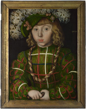 Lucas Cranach the Elder: 'Portrait of Johann Friedrich the Magnanimous'