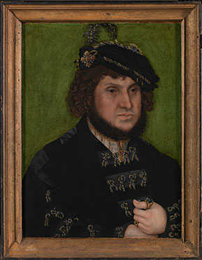 Lucas Cranach the Elder: 'Portrait of Johann the Steadfast'