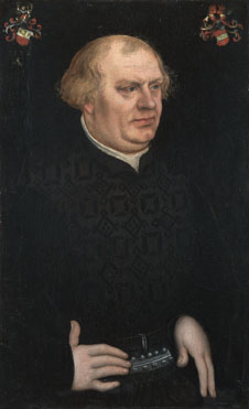 Lucas Cranach the Elder: 'Portrait of a Man, probably Johann Feige'