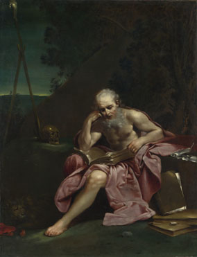 Giuseppe Maria Crespi: 'Saint Jerome in the Desert'