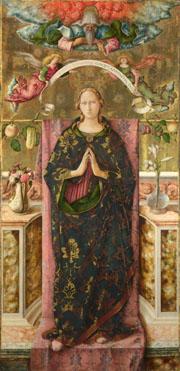 Carlo Crivelli: 'The Immaculate Conception'