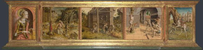 Carlo Crivelli: 'La Madonna della Rondine (The Madonna of the Swallow)'