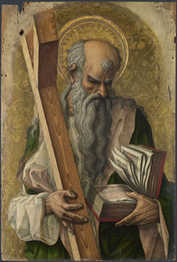 Carlo Crivelli: 'Saint Andrew'