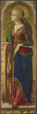 Carlo Crivelli: 'Saint Catherine of Alexandria'