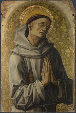 Carlo Crivelli: 'Saint Francis'