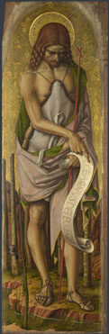 Carlo Crivelli, Saint John the Baptist