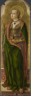 Carlo Crivelli: 'Saint Lucy'