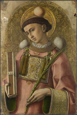 Carlo Crivelli: 'Saint Stephen'