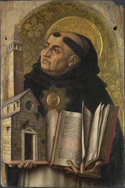 Carlo Crivelli: 'Saint Thomas Aquinas'