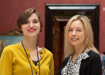 Eloise Donnelly and Helen Hillyard, Curatorial Trainees