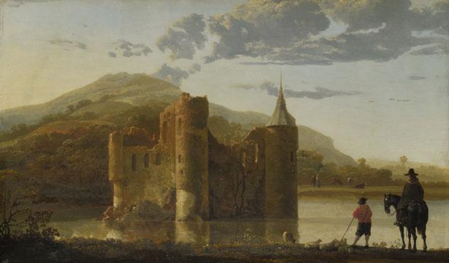 Aelbert Cuyp: 'Ubbergen Castle'