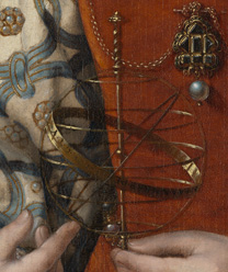 Detail from: Jan Gossaert: 'A Young Princess'