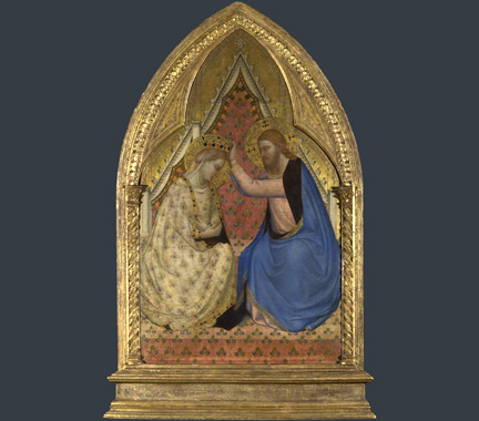 Daddi , 'Coronation of the Virgin', about 1340