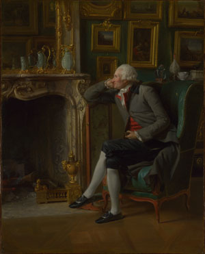 Henri-Pierre Danloux: 'The Baron de Besenval in his Salon de Compagnie'