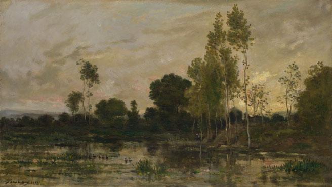 Charles-François Daubigny: 'Alders'