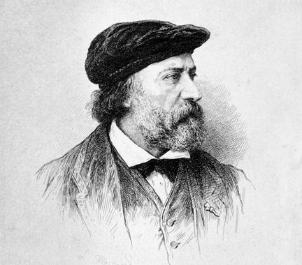 Portrait of Charles-François Daubigny