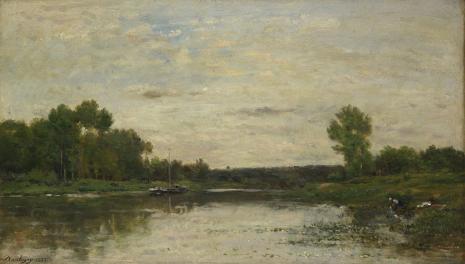 Charles-François Daubigny: 'View on the Oise'