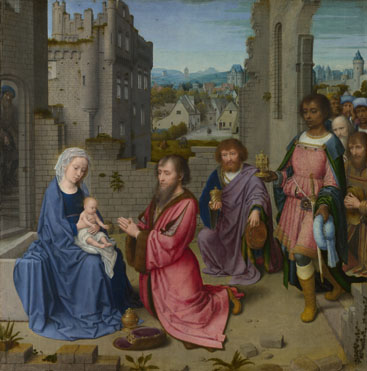 Gerard David: 'Adoration of the Kings'