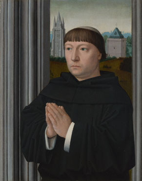 Gerard David: 'An Augustinian Friar (?) Praying'