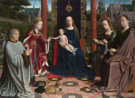 The Virgin and Child with Saints and Donor, Gerard David