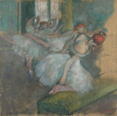 Hilaire-Germain-Edgar Degas: 'Ballet Dancers'